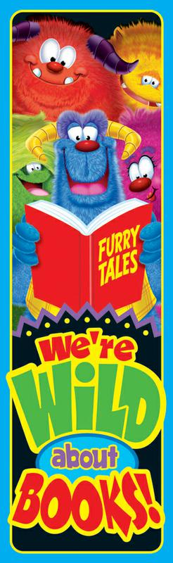 Wild About Books (Furry Friends®) Bookmarks