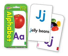 Alphabet Pocket Flash Cards