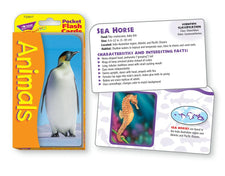 Animals Pocket Flash Cards