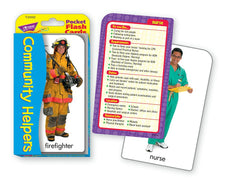 Community Helpers Pocket Flash Cards