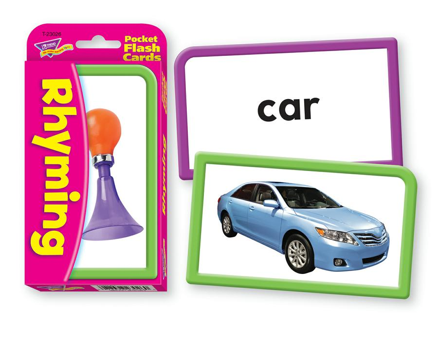 Rhyming Pocket Flash Cards