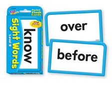 Sight Words–Level B Pocket Flash Cards