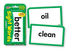 Sight Words–Level C Pocket Flash Cards