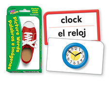 Picture Words/Palabras e imágenes (ENG/SP) Pocket Flash Cards