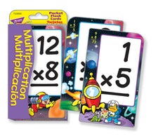 Multiplication/Multiplicación (ENG/SP) Pocket Flash Cards