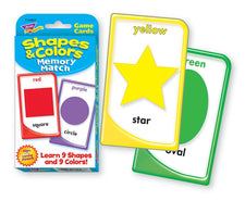 Shapes & Colors Memory Match Challenge Cards®