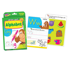 Alphabet Wipe-Off® Activity Cards