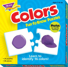 Colors Fun-to-Know® Puzzles