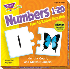 Numbers 1–20 Fun-to-Know® Puzzles