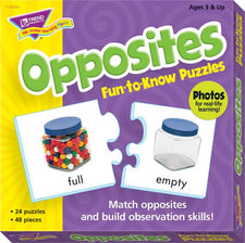 Opposites Fun-to-Know® Puzzles