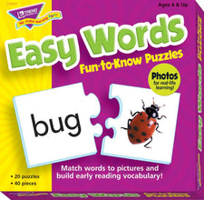 Easy Words Fun-to-Know® Puzzles