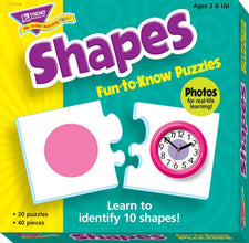 Shapes Fun-to-Know® Puzzles