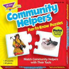 Community Helpers Fun-to-Know® Puzzles