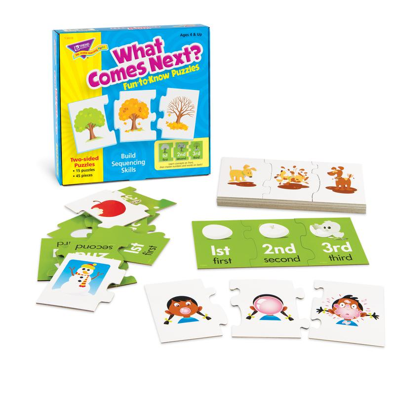 What Comes Next? Fun-to-Know® Puzzles