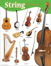String Instruments Learning Chart