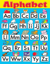 Alphabet Fun Learning Chart