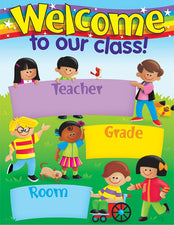 Welcome (TREND Kids) Learning Chart