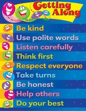 Getting Along Learning Chart