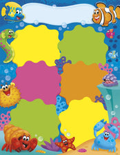 Job Chart Sea Buddies™ Learning Chart