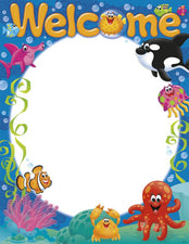 Welcome Sea Buddies™ Learning Chart