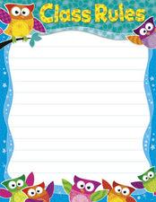 Class Rules Owl-Stars!® Learning Chart
