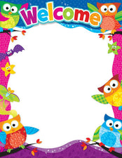 Welcome (Owl-Stars!®) Learning Chart