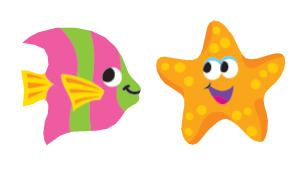 Sea Life superShapes Stickers