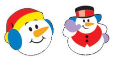 Super Snow Friends superShapes Stickers
