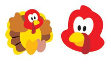 Turkey Time superShapes Stickers