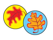 Fall Leaves superSpots® Stickers