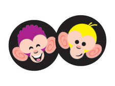 Merry Monkeys superSpots® Stickers