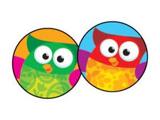 Owl-Stars!® superSpots® Stickers