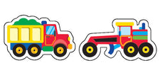 Construction Vehicles superShapes Stickers–Large