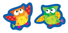 Owl-Stars!® superShapes Stickers–Large