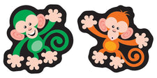 Color Monkeys superShapes Stickers–Large