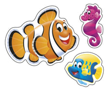 Sea Buddies™ superShapes Stickers – Large