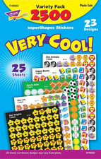 Very Cool! superShapes Stickers Variety Pack
