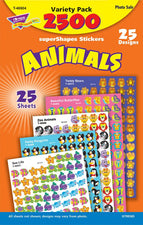 Animals superShapes Stickers Variety Pack
