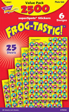Frog-tastic!® superSpots® Stickers Value Pack