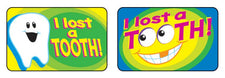 I Lost a Tooth Applause STICKERS®–Large