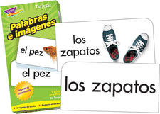 Palabras e imágenes (SP) Skill Drill Flash Cards
