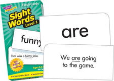 Sight Words–Level 1 Skill Drill Flash Cards