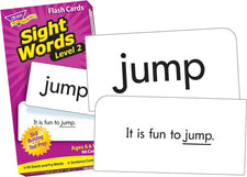Sight Words–Level 2 Skill Drill Flash Cards