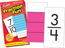 Fraction Fun Skill Drill Flash Cards