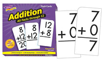 Addition 0-12 (All Facts) Skill Drill Flash Cards