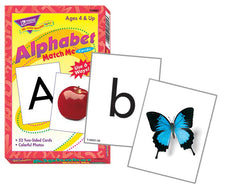 Alphabet Match Me® Cards