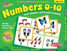 Numbers 0–10 Match Me® Games