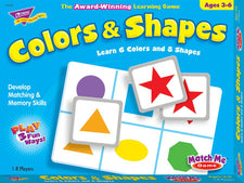 Colors & Shapes Match Me® Games