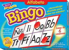Alfabeto (SP) Bingo Game