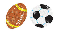 Star Sports Sparkle Stickers®